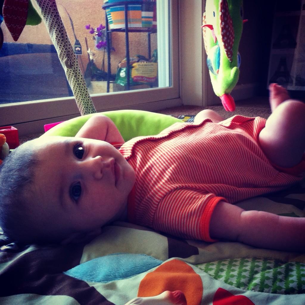 12 week old baby